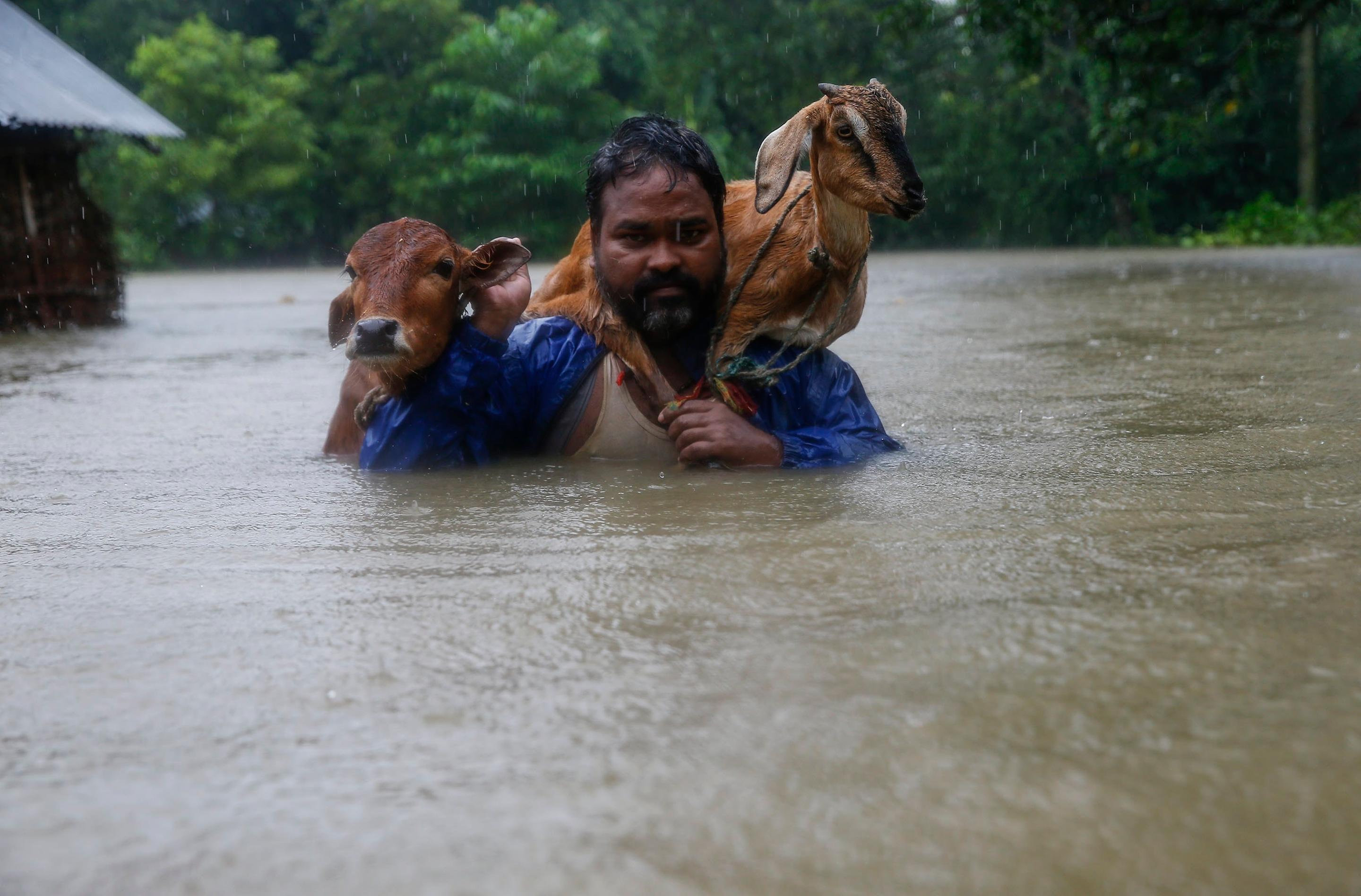 Monsoon Flood Relief Project